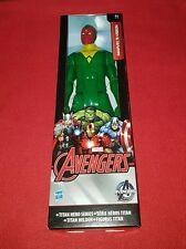 """Figurine Marvel Avengers """" Marvel's Vision """" Titan Hero Series Hasbro"""
