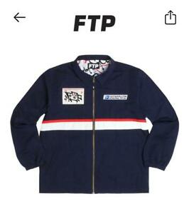 FTP FuckThePopulation Going Postal Coach Jacket Navy Like Supreme XL - SOLD OUT
