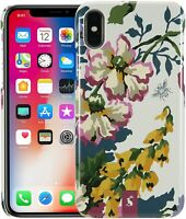 Apple iphone Cover X/XS JOULES Anniversary Floral Cream Mobile Phone Case BNIB