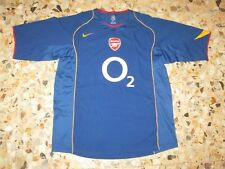Maillot shirt trikot maglia jersey FC ARSENAL  2004-2005 NIKE AWAY INVINCIBLES