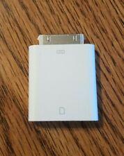 Genuine Apple iPad Camera Connection   SD card reader