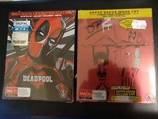 Deadpool Amazeballs Limited Edition Steelbook 4k Ultra Blu-ray 2 Disc Set