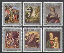 Laos Horses Postal Stamps