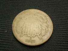 1867 Two Cent Piece each additional coin ships  for free