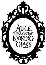 Alice In Wonderland 1 Typography quote Decorative Vinyl Wall Sticker
