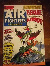 AIR FIGHTERS CLASSICS VOLUME FOUR / ECLIPSE / GOLDEN AGE COMICS REPRINT / 1988