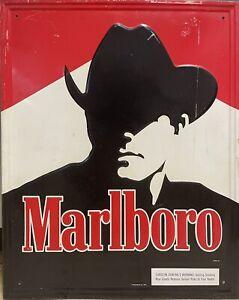 Vintage Marlboro Metal Sign
