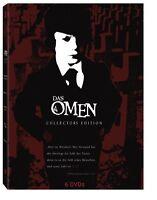 Das Omen 1 2 3 4 Ultimate Collectors Edition 666 Damien Espina 6 DVD Complete