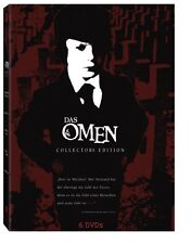 DAS OMEN 1 2 3 4 Ultimate Collectors Edition 666 DAMIEN THORN 6 DVD Complete Box