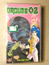ORGUSS 02  -  VOLUME 3  -  MANGA  -  VIDEO VHS 1995   NUOVO E SIGILLATO