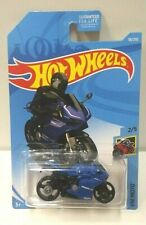 2018 Hot Wheels Moto Ducati 1199 Panigale Blue 58