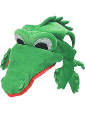 Funny Alligator Crocodile Swamp Party Hat Cap Costume Accessory