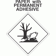 L339 Environmentally Hazardous Marking Paper Labels (Roll of 500 Labels)