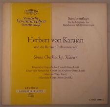Liszt & Dvorak Works -Karajan & Cherkassky/DGG Tulips Stereo S72141 (138691) VG+