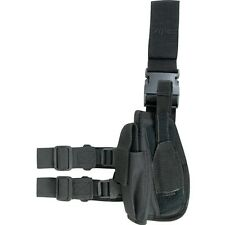 VIPER Drop Leg Holster LEFT Hand side - Air Pistol Airsoft Black Special Ops New