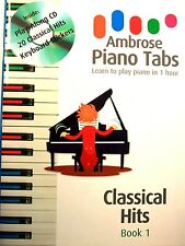 Easy Classical Keyboard Piano Music Hits, Adult Children Beginners Play-along CD