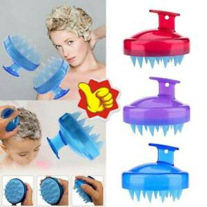 Head Scrubber Shampoo Brush and Hair Scalp Massager with Soft Silicone Bristle