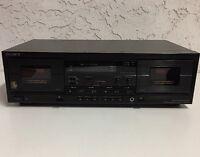 Sony TC-WR670 HX Pro Auto Reverse Dual Stereo Cassette Tape Deck Recorder Player