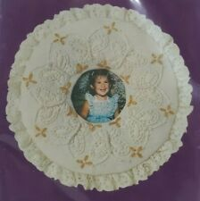 1980s NIP Candlewicking Embroidery Kit Butterflies & Flowers Picture Frame 5759F
