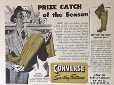 1959 AD.(XC23)~CONVERSE RUBBER CO. MALDEN, MASS. SPORTING FOOTWEAR