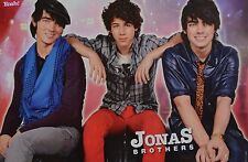 JONAS BROTHERS - A3 Poster (ca. 42 x 28 cm) - Clippings Fan Sammlung NEU