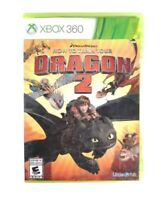 How to Train Your Dragon 2 (Microsoft Xbox 360, 2014) Complete, VG, CIB, TESTED