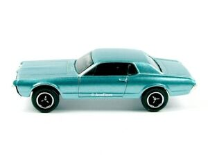MATCHBOX / 1968 Mercury Cougar (Metallic Blue) / No packaging.