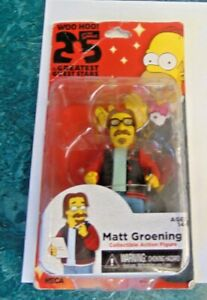 Simpsons  Matt Groening Figure, NECA Greatest Guest Stars Series NOT MINT