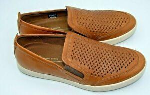 ECCO Collin 2.0 Slip On Mens Sneaker size US 10-10.5 (EUR 44) cashmere Suede