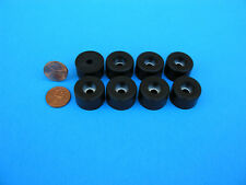 "8 Rubber Bumper Stop Leg Feet Pad Non Slip 7/8""W x 9/16""H Screw on type USA Made"