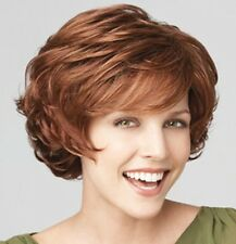 Charming Women Short Blonde Mixed Curly Cosplay Everyday Clothing Party Full Wig