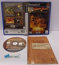 SONY Playstation 2 PS2 PAL ITALIANO ITA INDIANA JONES E LA TOMBA DELL'IMPERATORE