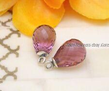 NEW Authentic Pandora FASCINATING BEAUTY Purple Compose Earrings 290676CPE RETIR