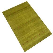 Gabbeh Teppich 100% Wolle Gold Gelb Handgeknüpft 166X244 cm WR40