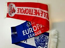 superbe Echarpe football  match  LILLE /KAA GENT 2010 LOSC europa league