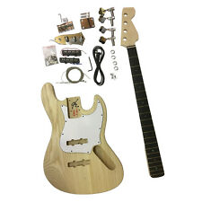 Buy guitar diy project kits supplies ebay gd309 electric bass jazz diy guitar kit ash body kits for luthier projects great solutioingenieria Images