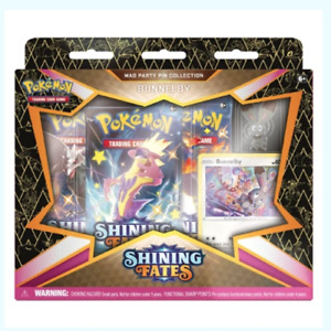 Pokémon Trading Card Game Shining Fates Bunnelby Mad Party Pin Collection