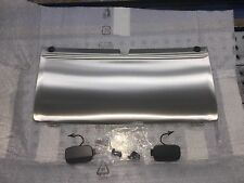 AUDI OEM Q7 REAR STAINLESS STEEL TOW TRAILER HITCH COVER W/ OFF ROAD PKG