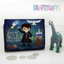 Personalised Harry Potter Boys Childrens Lunch Wallet Money Gift ET09
