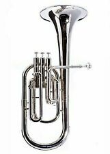 Alto Horn Silver Plated Fever Deluxe Never Played
