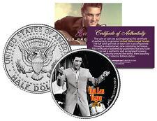 ELVIS PRESLEY - MOVIE * Viva Las Vegas * JFK Kennedy Half Dollar Coin *LICENSED*