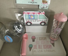 Target Dollar Spot Bullseyes Playground Ice Cream Party Set