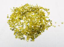 1.0ct Sparkling 100% Natural Yellow Diamond Uncut Raw Diamond Rough Diamond Dust