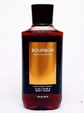 1 Bath & Body Works BOURBON Shower Gel / MEN'S Body Wash WHITE PEPPER AMBER OAK
