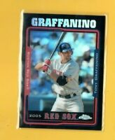 D18281  2005 Topps Chrome Update Black Refractors #64 Tony Graffanino #201/250