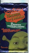 Shrek The Third Factory Sealed Retail Packet / Pack