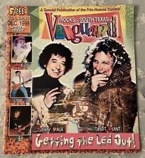 Special Issue Dec 98 Vanguard Rocks South Texas ~Letting The Led Out~Plant~Page