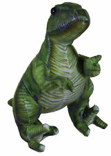 14 Inch Long Dinosaur Plush Toy With 3D Artwork Detail (Velociraptor)