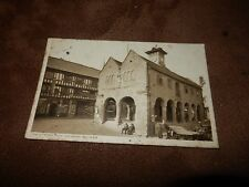 1920s Herefordshire Postcard - Old Market House - Ross-on-Wye - social scene