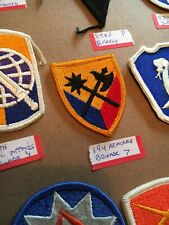 Authentic Us Army 194th Armored Brigade patch